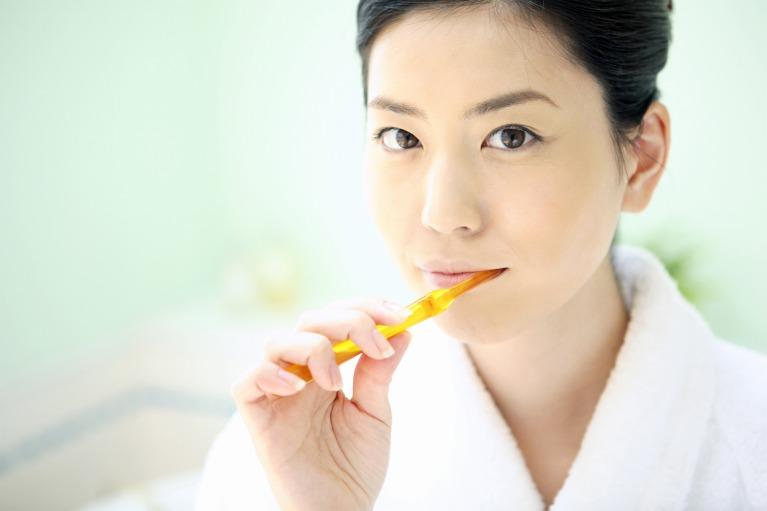 毎食後の歯磨き